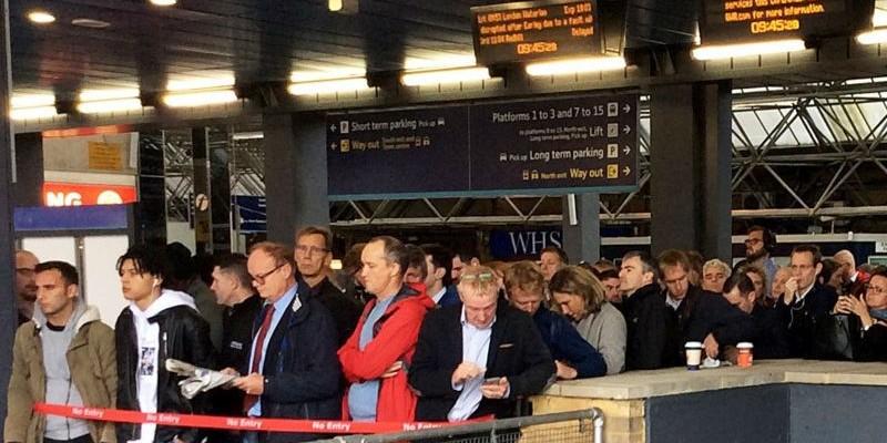 Paddington Station Delays