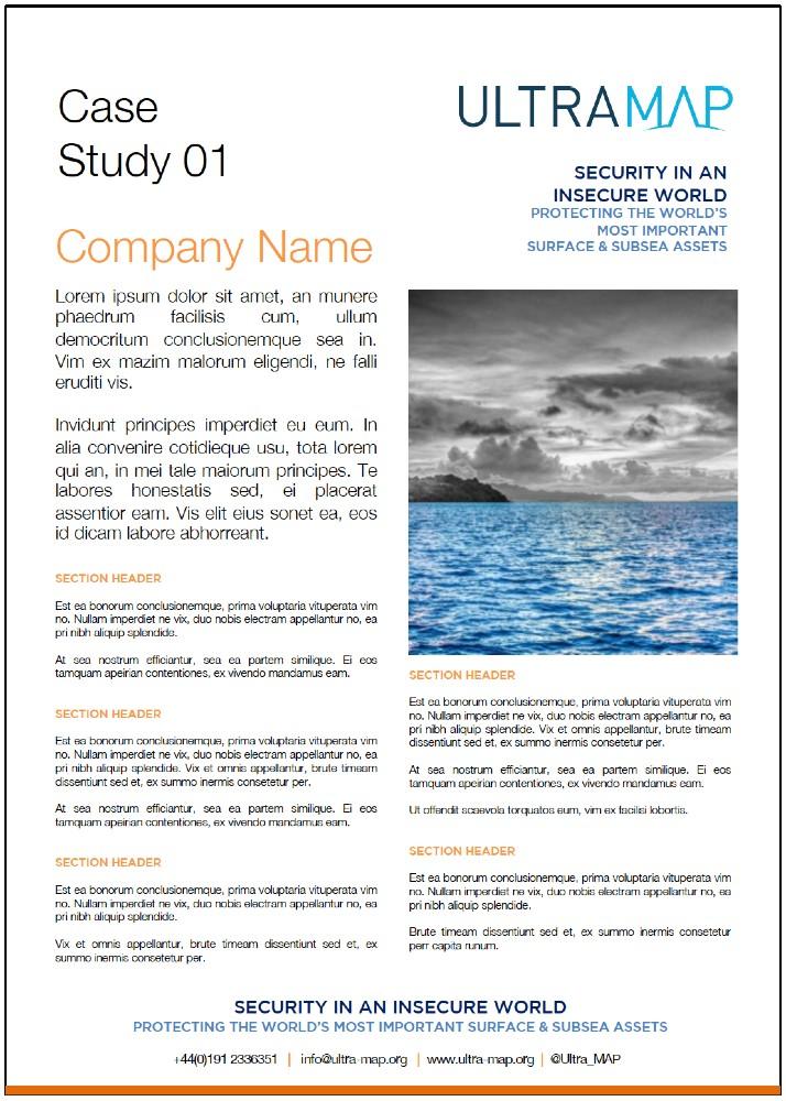 UltraMAP Case Study 1