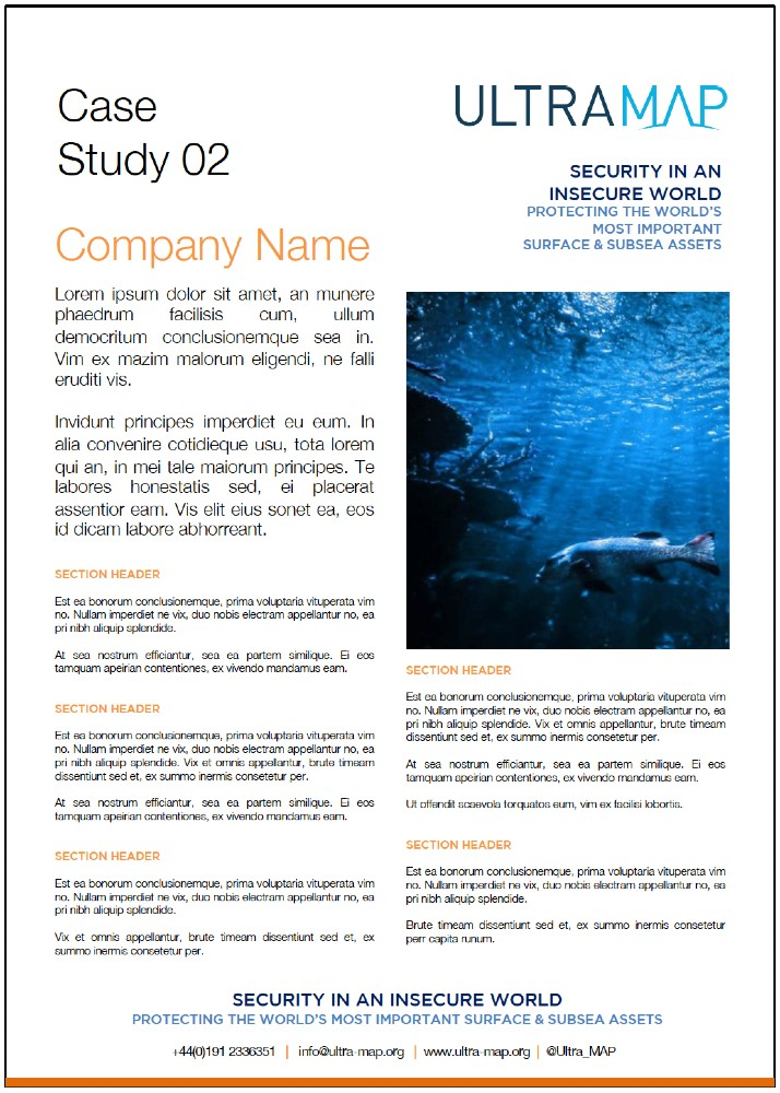 UltraMAP Case Study 2