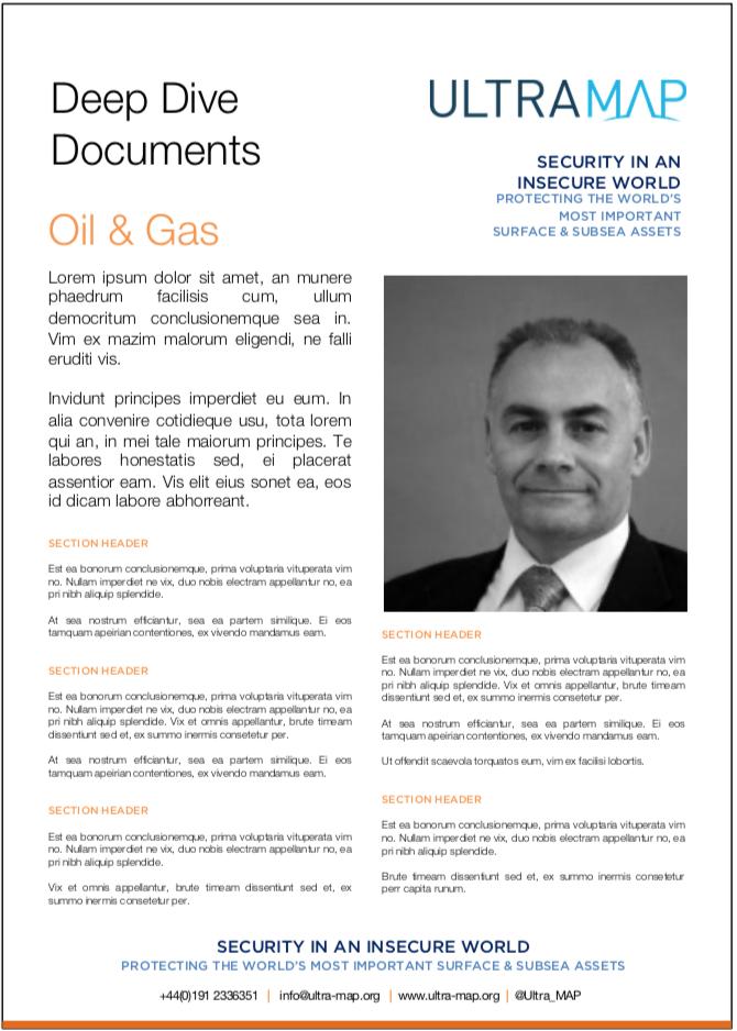 UltraMAP Deep Dive Document Oil & Gas