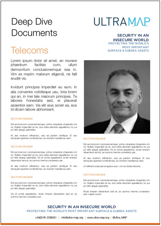 UltraMAP Deep Dive Document Telecoms