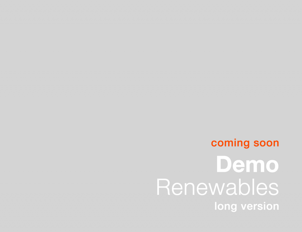 UltraMAP Renewables